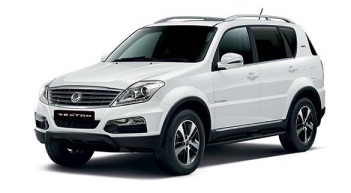 Location voiture Saint barth - SsangYong REXTON
